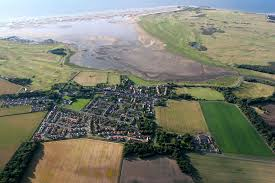 Aberlady from the air